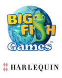 Big Fish Games and Harlequin
