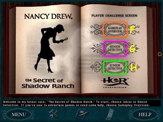 Nancy Drew: Secret of Shadow Ranch