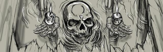 Grave Testimony Skull