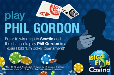 Play Poker with Phil Gordon!
