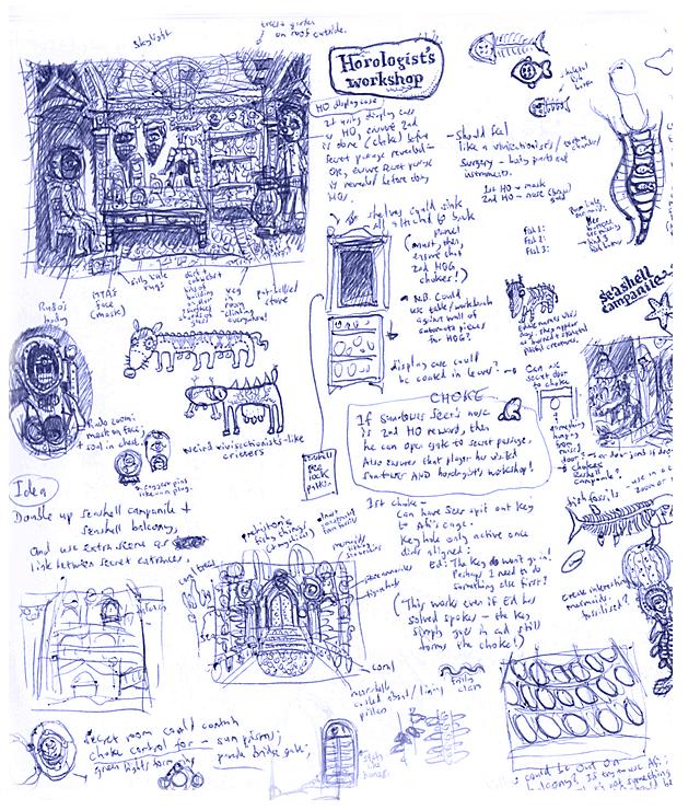 Margrave Workshop Sketch