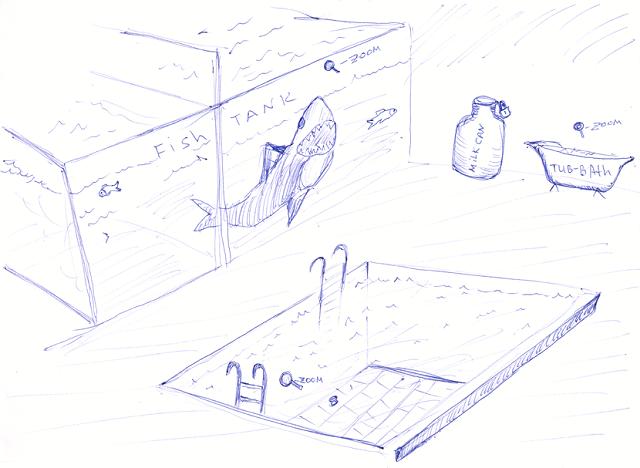 Shark Tank Sketch