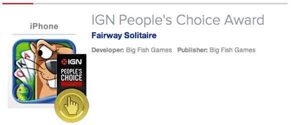 IGN People's Choice Award