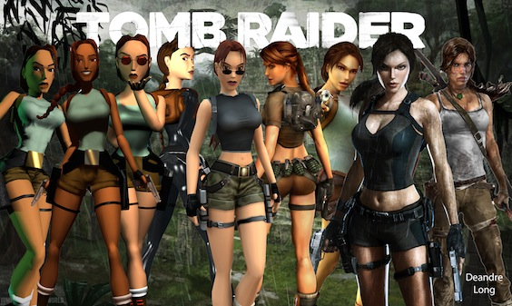 Body Image in Tomb Raider — Lara Croft's Changing Look