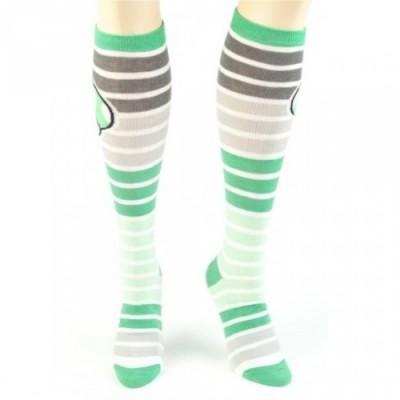 Super Mario Green Mushroom Socks Front