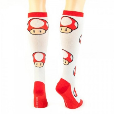 Mario Mushroom Socks back