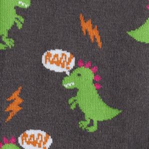 Godzilla Socks detail