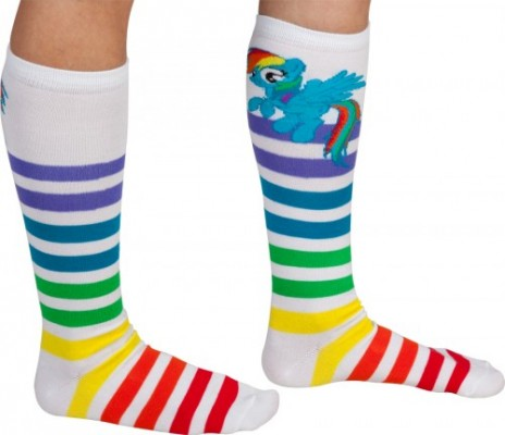 Rainbow Dash Socks Side
