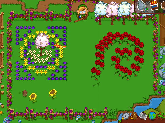 Who can build the best garden in bush whacker 2 big for Big fish games phone number