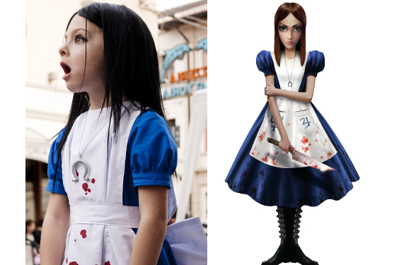 American McGee's Alice Kid Costume