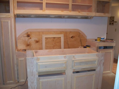 Kitchen woodworking