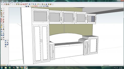 SketchUp Kitchen Model