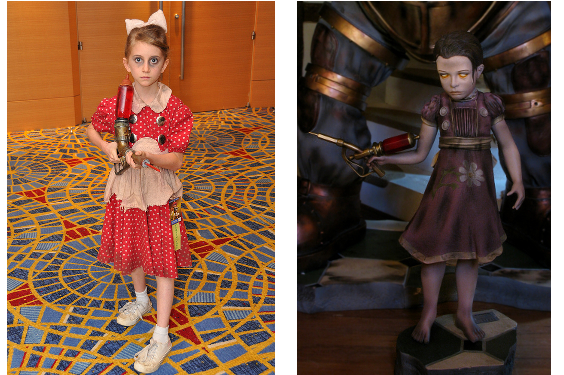 Little Sister Bioshock Kid Costume