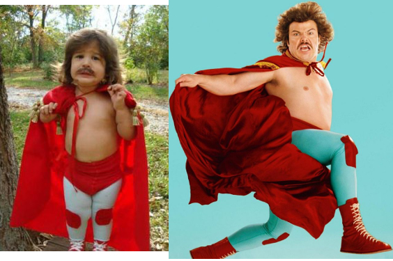 Nacho Libre Kid Costume