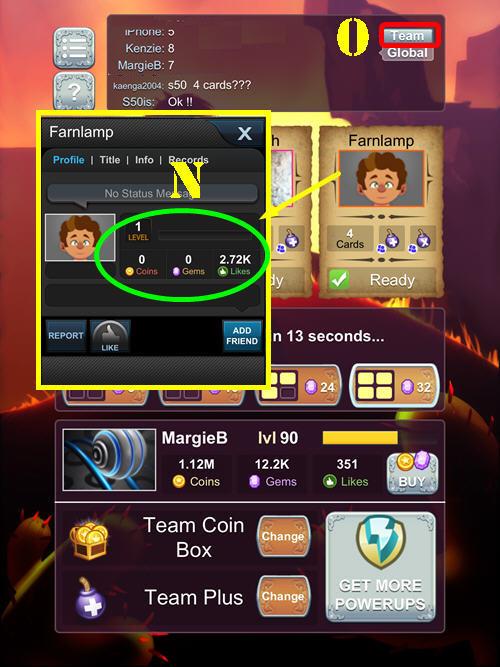 Bingo Chat Room Lingo