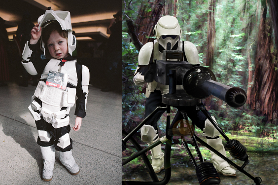 Star Wars Scout Trooper Kid Costume