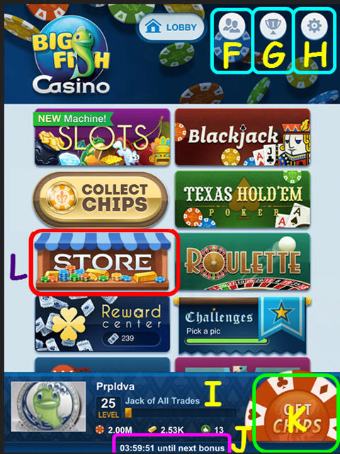 how to win at big fish casino