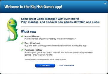 Check Out the New Big Fish Games App Today!