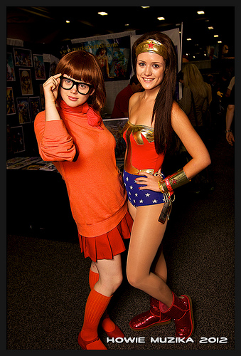 Velma and Wonder Woman