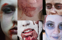 Zombie Zombie Zombie: Make-up Tutorial