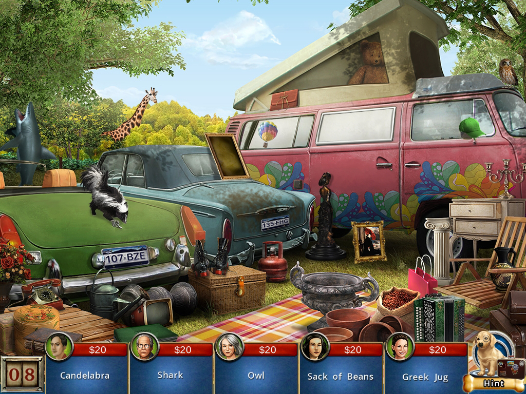 Screenshot of Antique Road Trip: American Dreamin' Junkyard