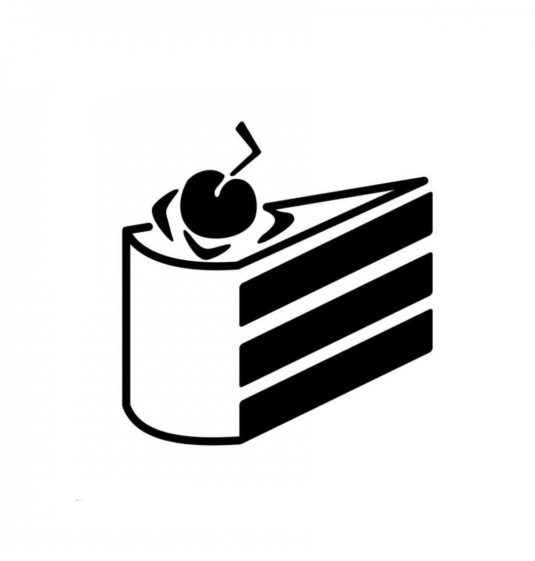 Portal Cake Stencil