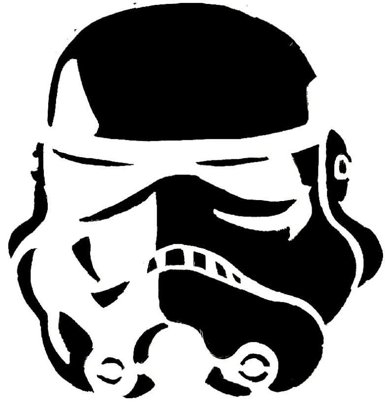Storm Trooper Stencil