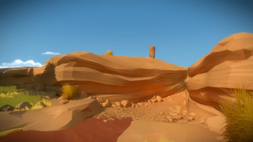 The Witness landscape