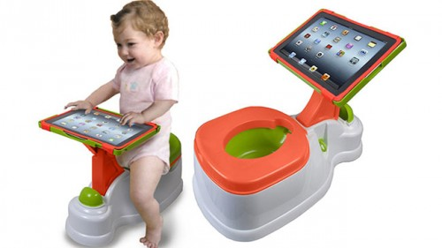 Throne of Games: Game While You Go <br />With These Brilliant Bathroom Accouterments