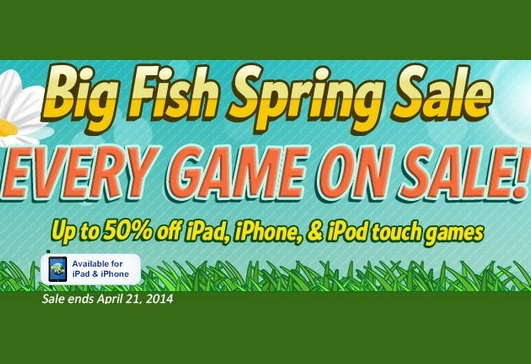 Spring is Here! Every iPad, iPhone & iPod Game is On Sale!!