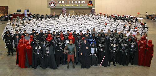 501st Legion Star Trek Cosplayers