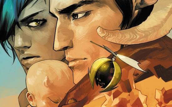 Saga comic cover