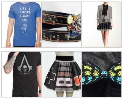 Gamer Fashion and Lifestyle Options
