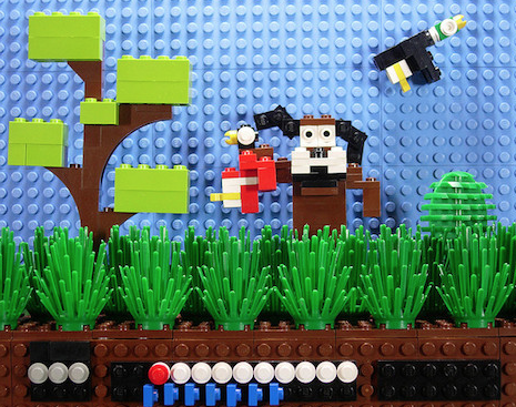 13 Iconic Video Game Scenes Built Out of Lego Parts
